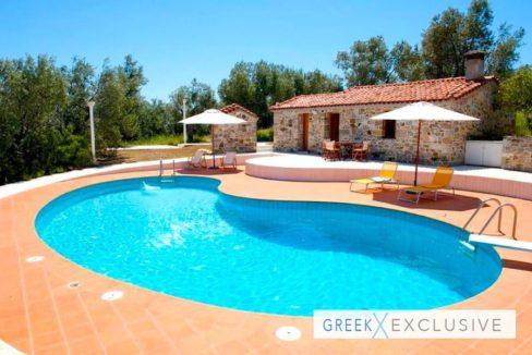 Seafront Land with Luxury Villa in Mytilini, Greek Island Property