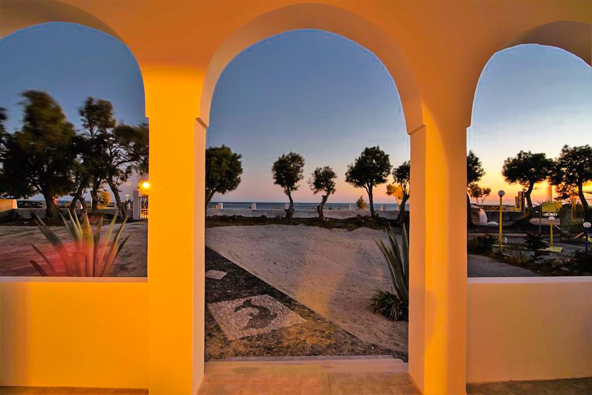 Seafront Property Santorini Cyclades
