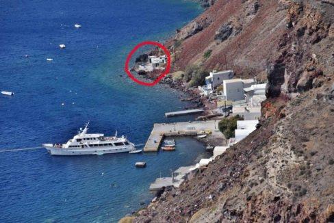 Seafront Property in Oia Santorini