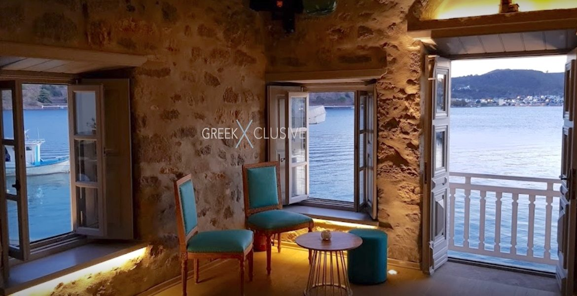 Seafront Property in Patmos Island Greece, Real Estate Greece