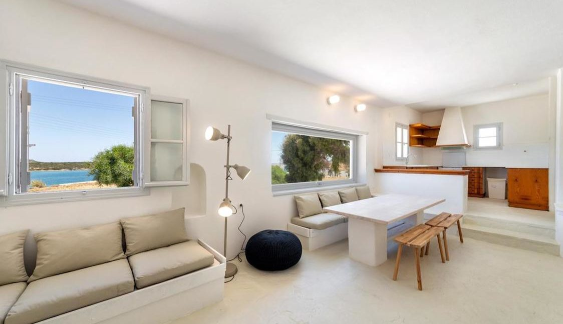 Seafront Villa in Paros Greece, Villas in Paros 1