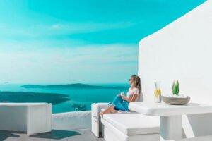Villa For Sale in Santorini Island. Cave House Imerovigli Santorini
