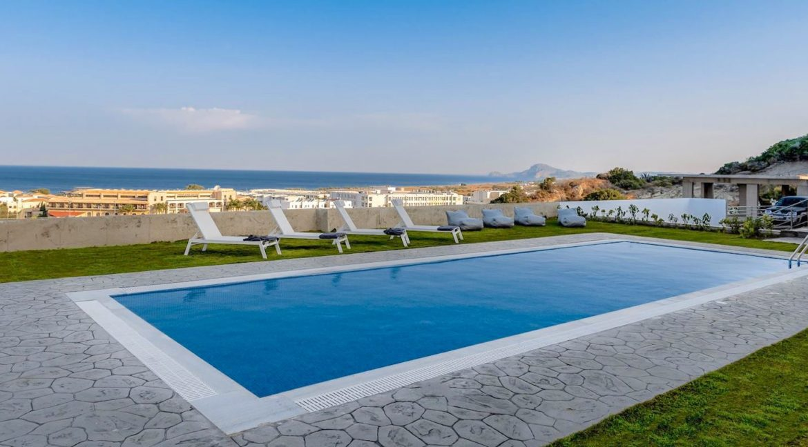 Villa With Sea View in Rhodes, Real Estate Greek Islands 1