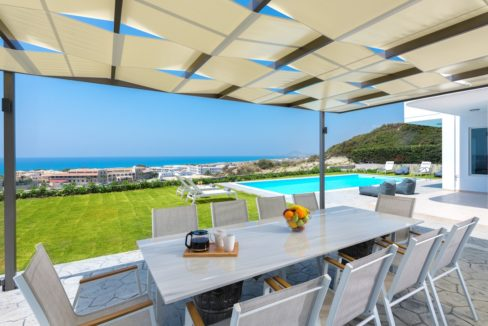 Villa With Sea View in Rhodes, Real Estate Greek Islands 11