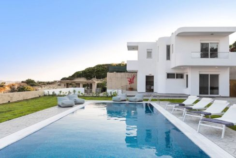 Villa With Sea View in Rhodes, Real Estate Greek Islands 2