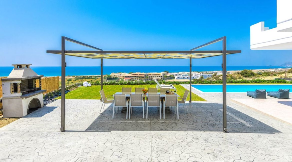 Villa With Sea View in Rhodes, Real Estate Greek Islands 4