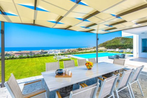 Villa With Sea View in Rhodes, Real Estate Greek Islands 5