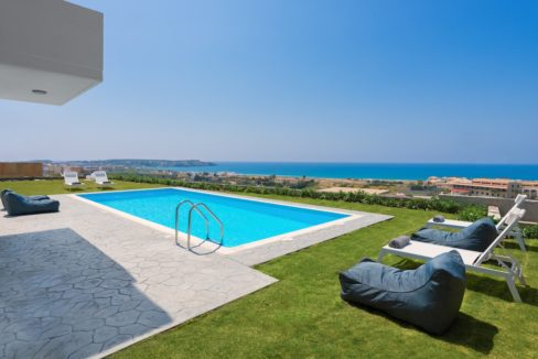 Villa With Sea View in Rhodes, Real Estate Greek Islands 8