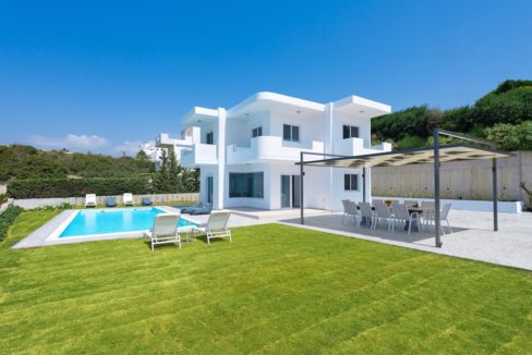Villa With Sea View in Rhodes, Real Estate Greek Islands 9