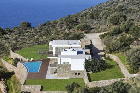 Villa in Elounda Crete, Luxury Villa with Sea View in Crete