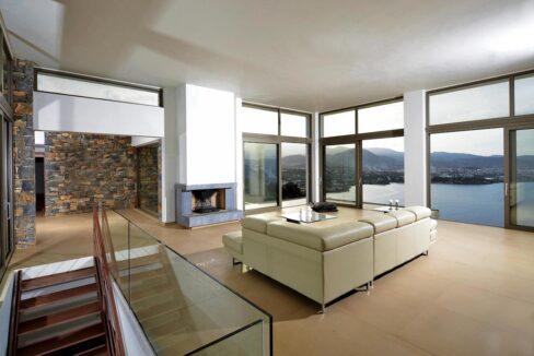 Villa in Elounda Crete, Luxury Villa with Sea View in Crete 14