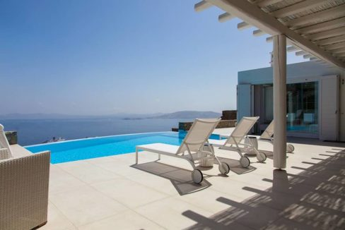 Villa in Tourlos Mykonos with sea view, Mykonos Property 10