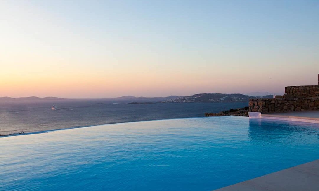 Villa in Tourlos Mykonos with sea view, Mykonos Property 11