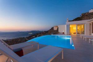 Villa in Tourlos Mykonos with sea view, Mykonos Property