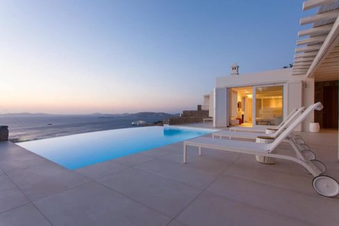 Villa in Tourlos Mykonos with sea view, Mykonos Property 13