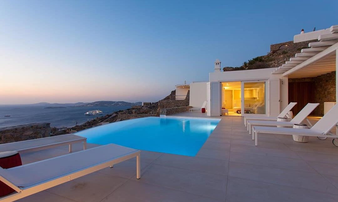 Villa in Tourlos Mykonos with sea view, Mykonos Property 14