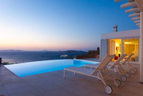Villa in Tourlos Mykonos with sea view, Mykonos Property 15
