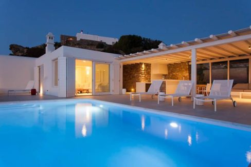Villa in Tourlos Mykonos with sea view, Mykonos Property 16