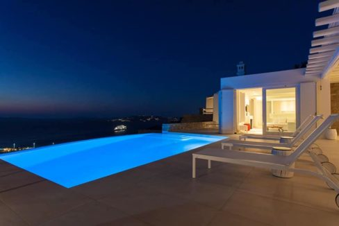 Villa in Tourlos Mykonos with sea view, Mykonos Property 17