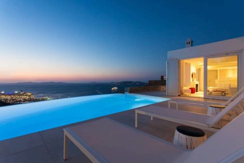 Villa in Tourlos Mykonos with sea view, Mykonos Property 18