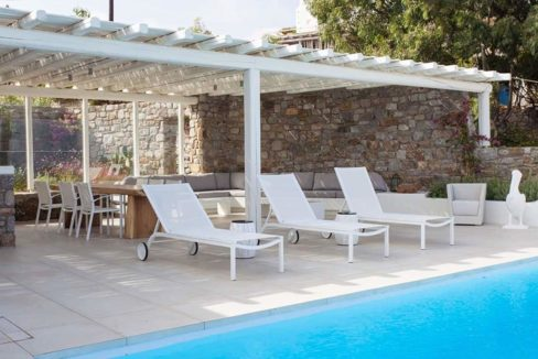 Villa in Tourlos Mykonos with sea view, Mykonos Property 6