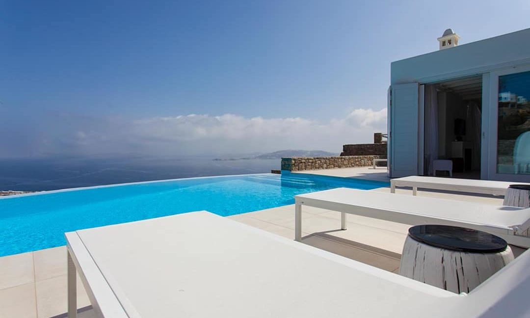 Villa in Tourlos Mykonos with sea view, Mykonos Property 7