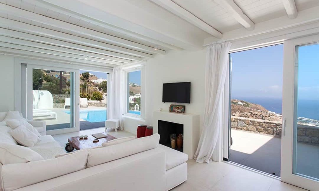 Villa in Tourlos Mykonos with sea view, Mykonos Property 8