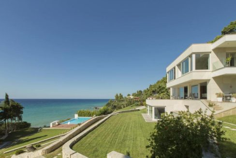 Seafront Villa in Chalkidiki, Possidi, Kassandra Property
