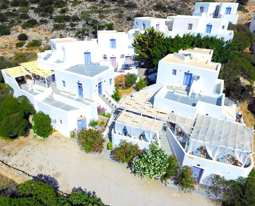 Traditional Hotel for Sale Sikinos Island Greece