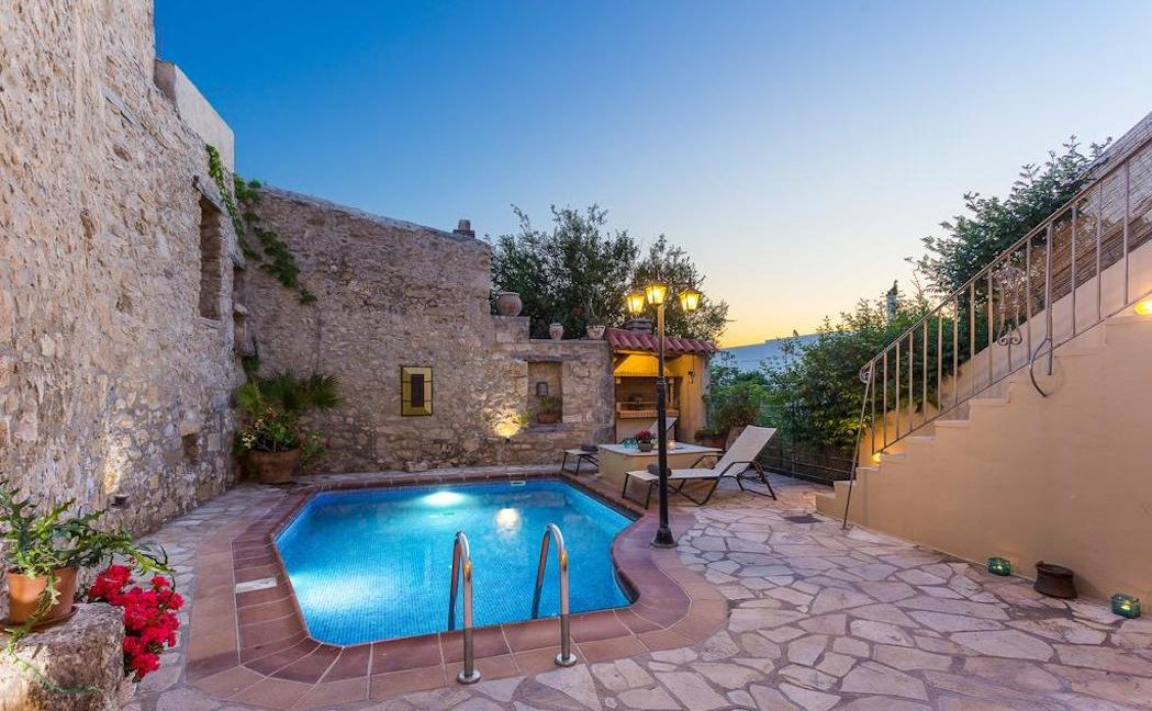 Villa Casa Sanguinazzo historical building in Crete