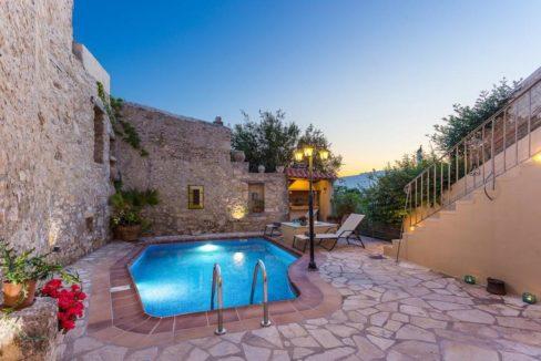 Villa Casa Sanguinazzo historical building in Crete 20