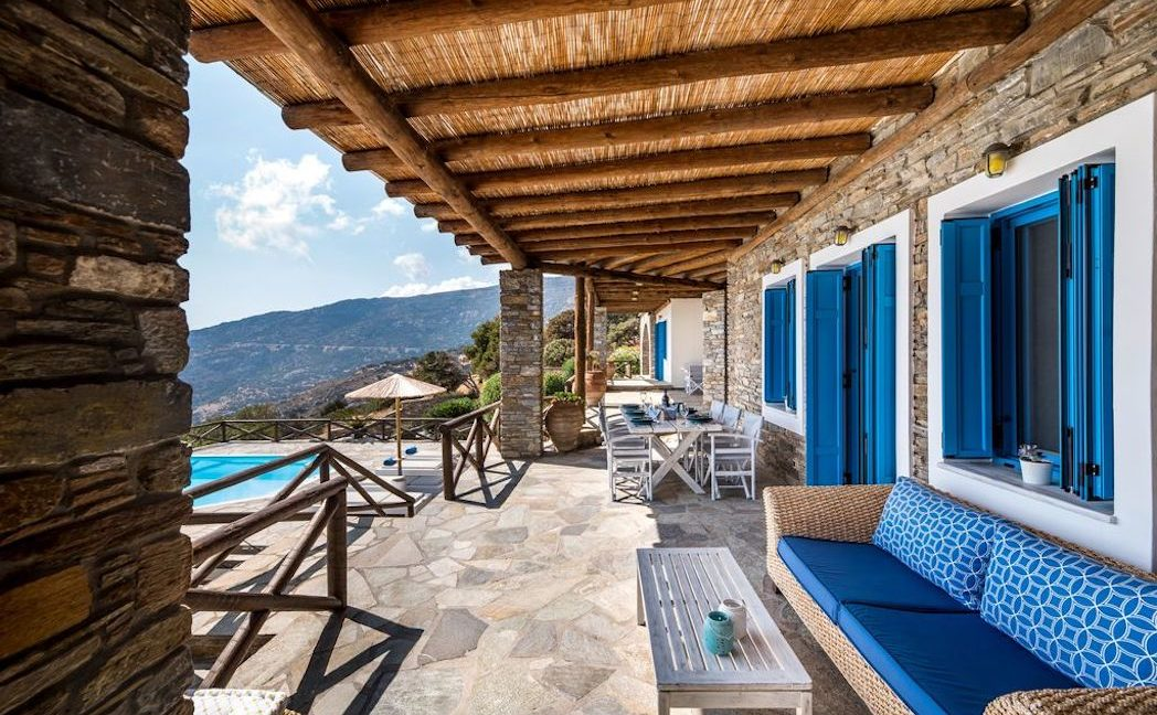 Villa for Sale Andros Cyclades Greece 16