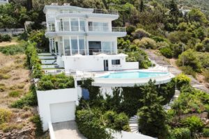 Villa in South Athens with Sea Views, Porto Rafti Villa for sale