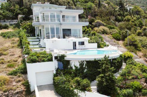Villa in South Athens with Sea Views, Porto Rafti Villa for sale