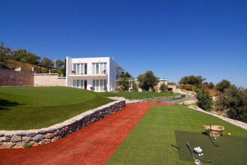 Villa with Golf course in Crete Rethymno 18