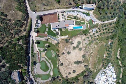 Villa with Golf course in Crete Rethymno 2