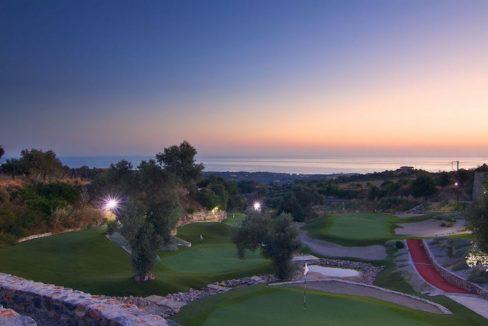 Villa with Golf course in Crete Rethymno 30