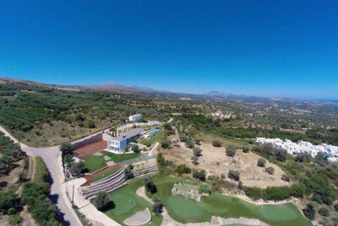 Villa with Golf course in Crete Rethymno 36