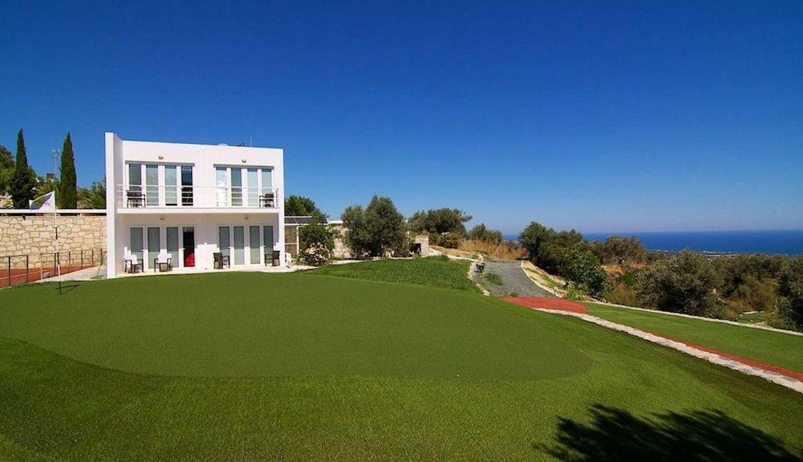 Villa with Golf course in Crete Rethymno 9