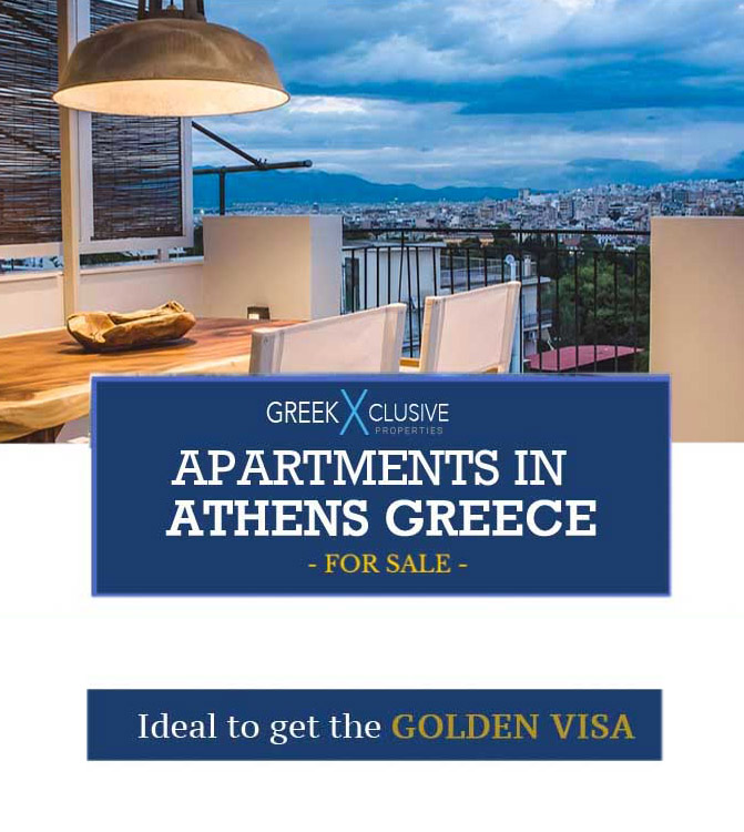 Golden Visa Greece Apartments in Athens