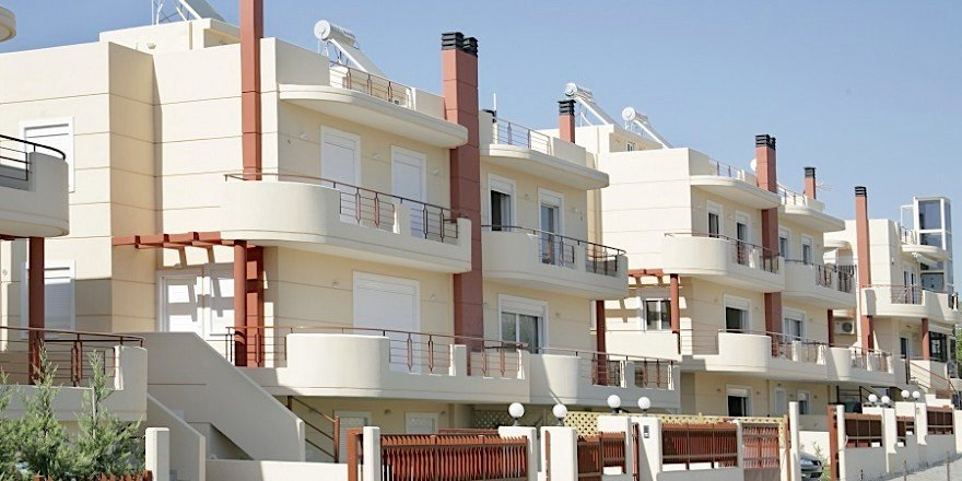 Houses by the sea East Athens