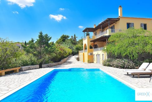 Villa for sale in Porto Heli Greece, Ververonta 10