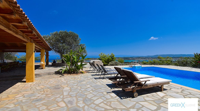 Villa for sale in Porto Heli Greece, Ververonta 11
