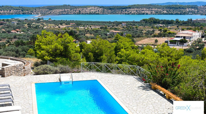 Villa for sale in Porto Heli Greece, Ververonta 19