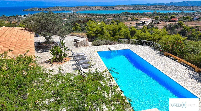 Villa for sale in Porto Heli Greece, Ververonta 20