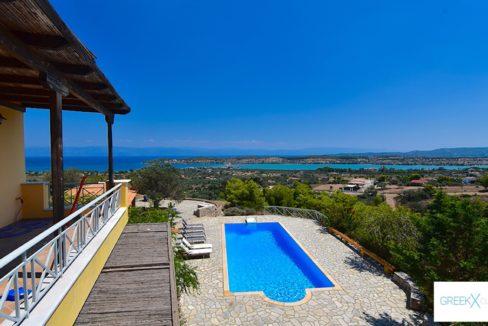 Villa for sale in Porto Heli Greece, Ververonta 5