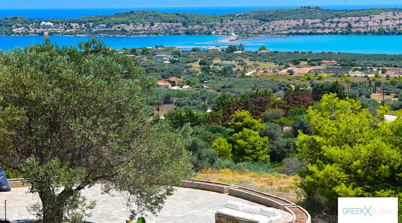 Villa for sale in Porto Heli Greece, Ververonta 6