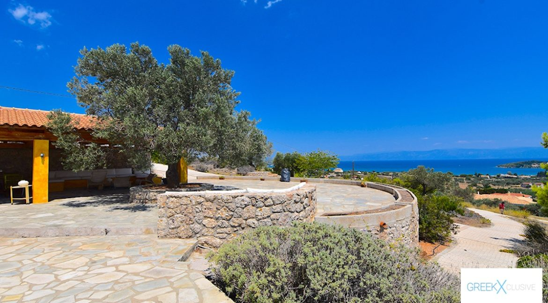 Villa for sale in Porto Heli Greece, Ververonta 8