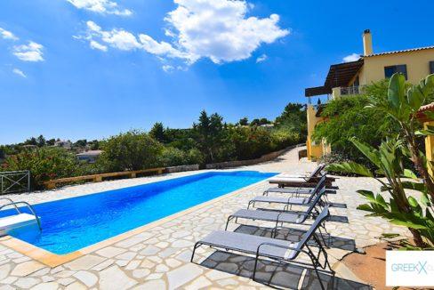 Villa for sale in Porto Heli Greece, Ververonta 9