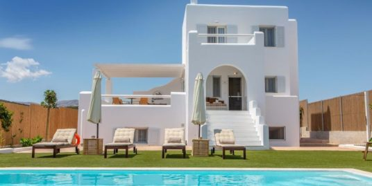 New Beautiful Villa in Greek Island Naxos, Cyclades Property